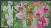 AUS SG1800-3 Australia-Singapore Joint Issue: Orchids set of 4